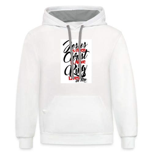 The King is Alive - Contrast Hoodie