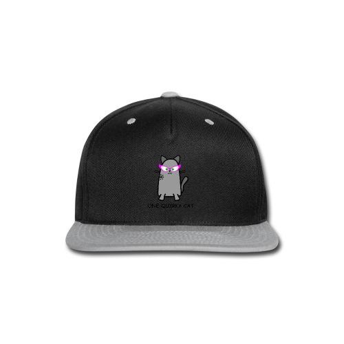 Quirky Cat T-Shirt - Snap-back Baseball Cap
