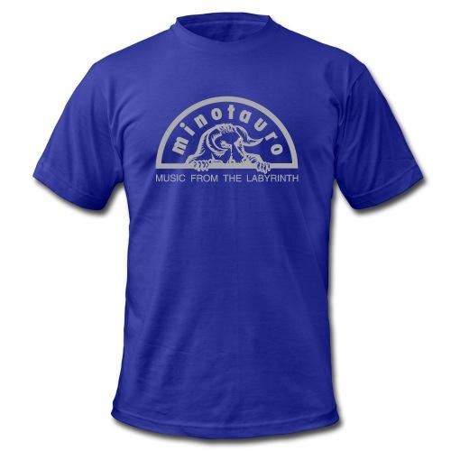 Minotauro Grey Logo - Men's Fine Jersey T-Shirt