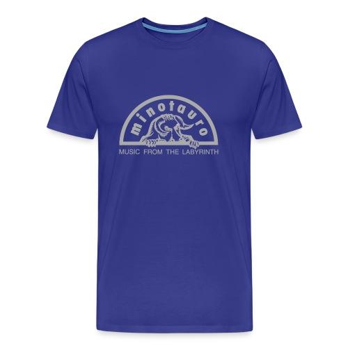Minotauro Grey Logo - Men's Premium T-Shirt