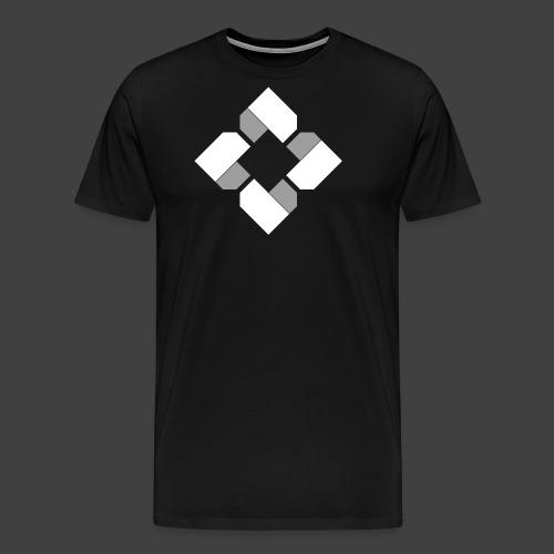 BTB White Logo Tee - Female - Men's Premium T-Shirt