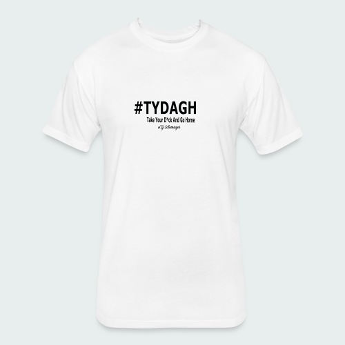 TYDAGH - Fitted Cotton/Poly T-Shirt by Next Level