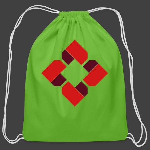 BTB Red Logo Tee - Female - Cotton Drawstring Bag