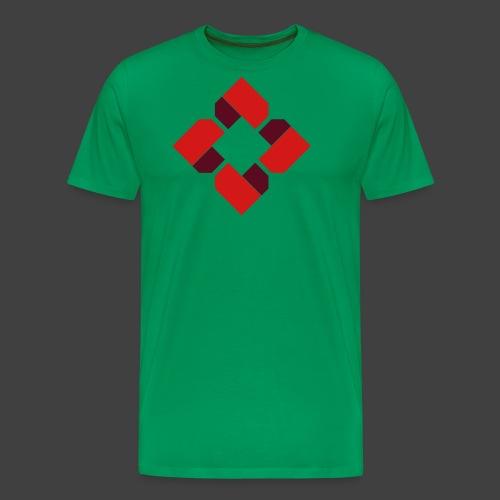 BTB Red Logo Tee - Female - Men's Premium T-Shirt