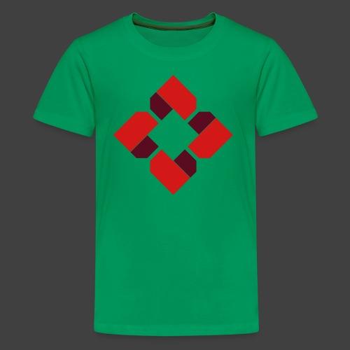 BTB Red Logo Tee - Female - Kids' Premium T-Shirt