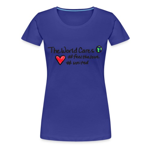 WorldCares tote - Women's Premium T-Shirt