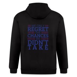 No regrets! - Men's Zip Hoodie