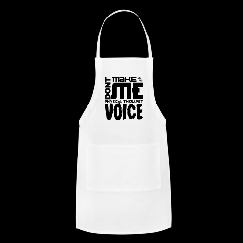 Mens PT Voice Physical Therapy Tee - White - Adjustable Apron