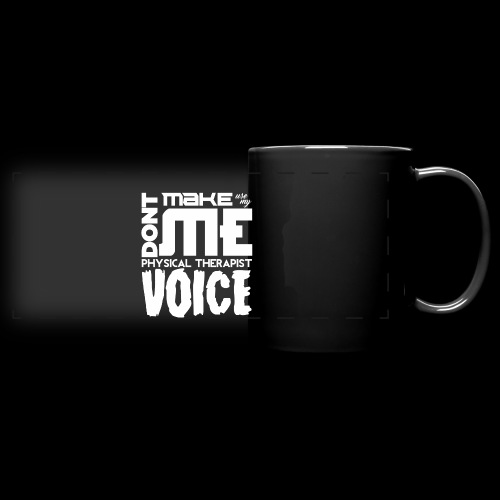 PT Voice Coffee Mug - Black - Full Color Panoramic Mug