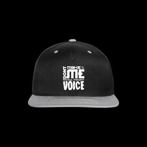 PT Voice Coffee Mug - Black - Snap-back Baseball Cap