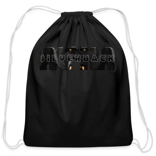 Alpha Silverback - Cotton Drawstring Bag