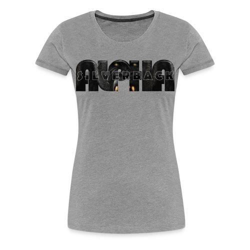 Alpha Silverback - Women's Premium T-Shirt