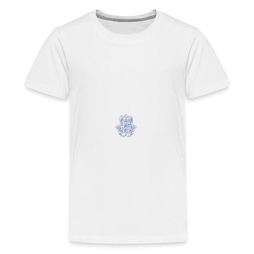 Hamsa Hand coffee/tea mug - Kids' Premium T-Shirt