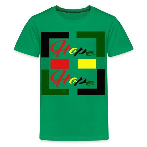 Women's Hope Symbolic Tee - Kids' Premium T-Shirt