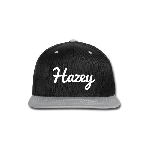 Slick Hipster Hoodie (White Logo) - Snap-back Baseball Cap