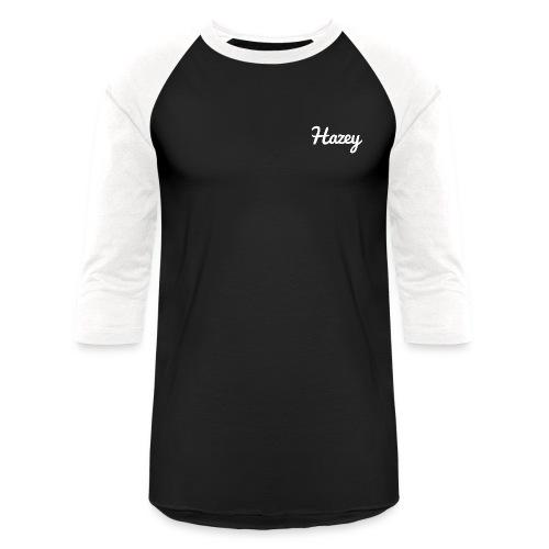 Slick Hipster Hoodie (White Logo) - Baseball T-Shirt