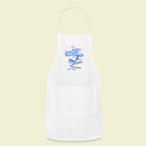A storm with skin - Adjustable Apron