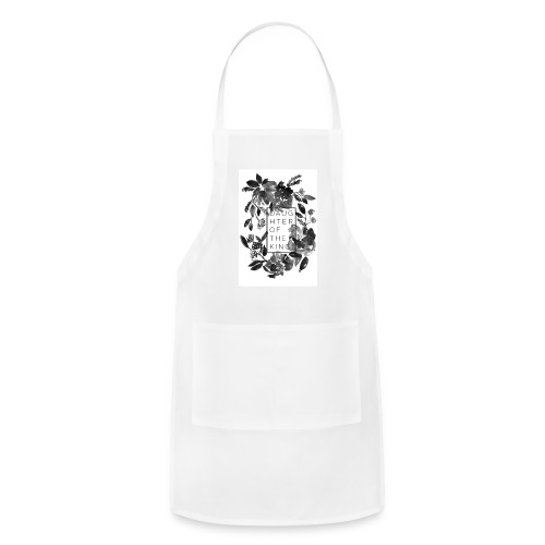 Daughter of the King Muscle Tee - Adjustable Apron