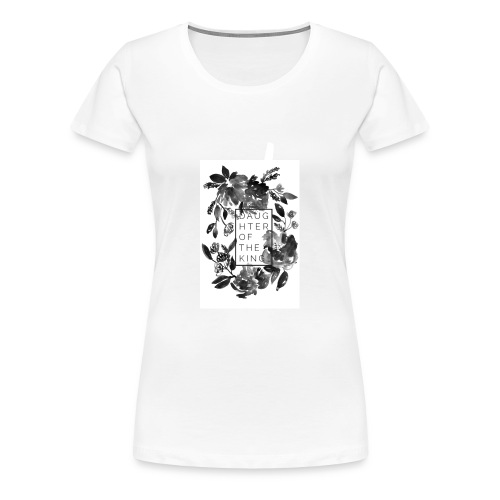 Daughter of the King Muscle Tee - Women's Premium T-Shirt