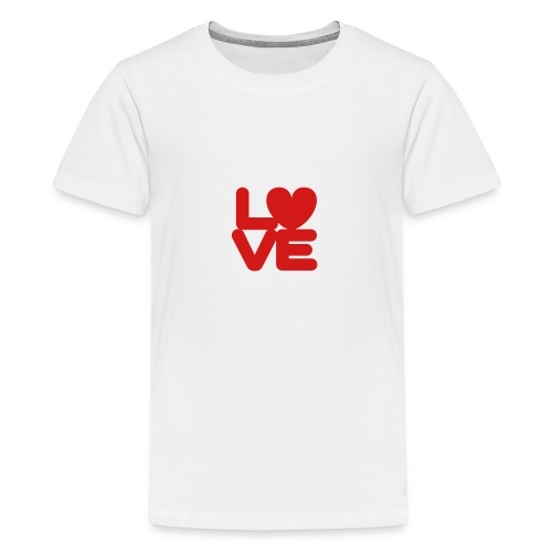 LOVE ♥ 01 ♥ - Kids' Premium T-Shirt