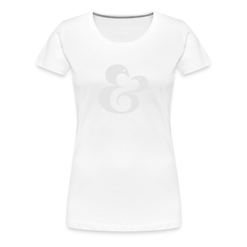 AMPERSAND 01 - Women's Premium T-Shirt