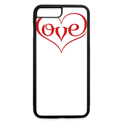 LOVE ♥ 02 ♥ - iPhone 7 Plus/8 Plus Rubber Case