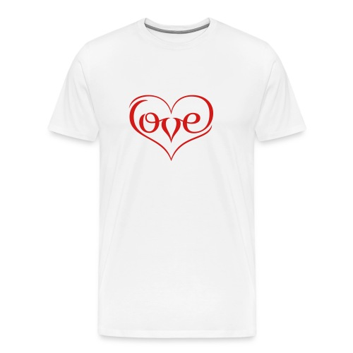 LOVE ♥ 02 ♥ - Men's Premium T-Shirt