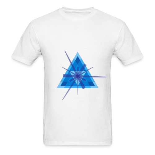 Geometric - Men's Ringer T-shirt - Men's T-Shirt