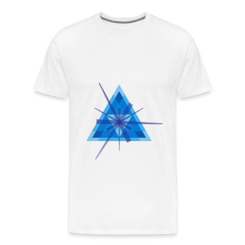 Geometric - Men's Ringer T-shirt - Men's Premium T-Shirt