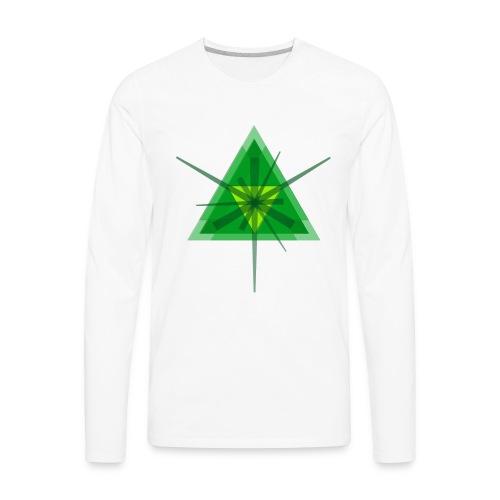 Geometric - Men's Ringer T-shirt - Men's Premium Long Sleeve T-Shirt