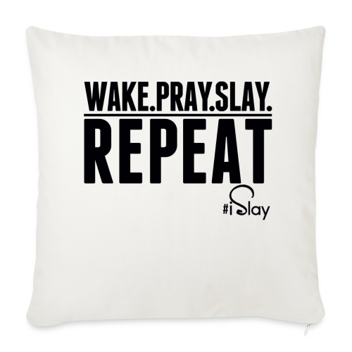 iSlay Repeat - Throw Pillow Cover