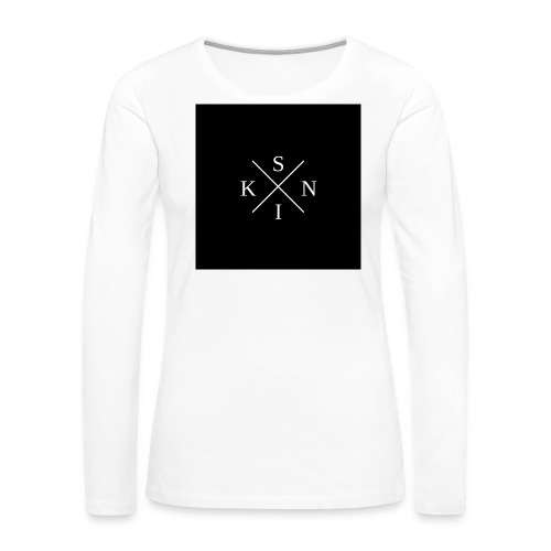 SKIN T-Shirt - Women's Premium Long Sleeve T-Shirt