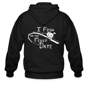 Fish First Date - Men's Zip Hoodie