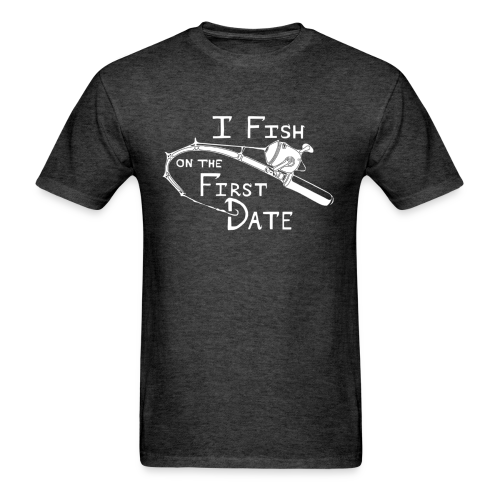 Fish First Date - Men's T-Shirt