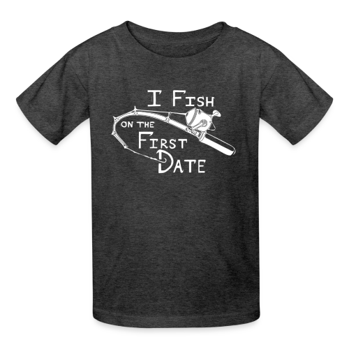 Fish First Date - Kids' T-Shirt
