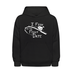 Fish First Date - Kids' Hoodie