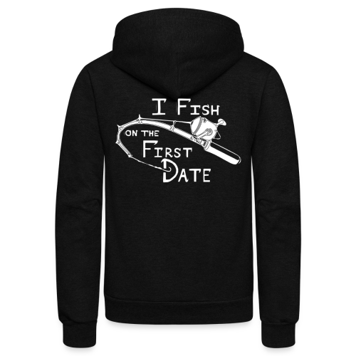 Fish First Date - Unisex Fleece Zip Hoodie