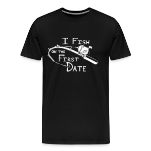 Fish First Date - Men's Premium T-Shirt