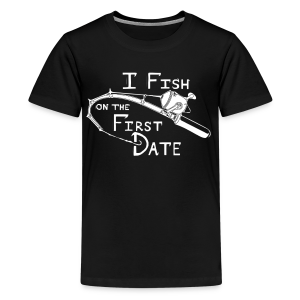 Fish First Date - Kids' Premium T-Shirt