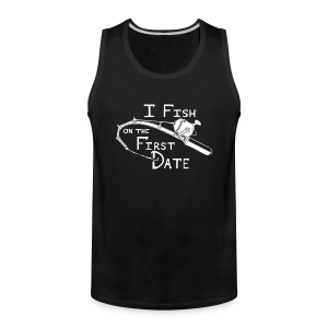 Fish First Date - Men's Premium Tank