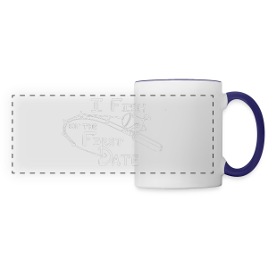 Fish First Date - Panoramic Mug