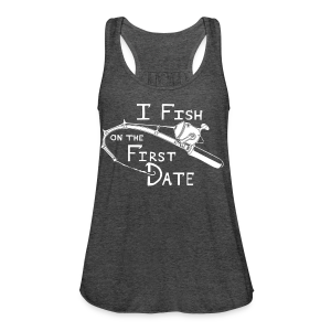 Fish First Date - Women's Flowy Tank Top by Bella