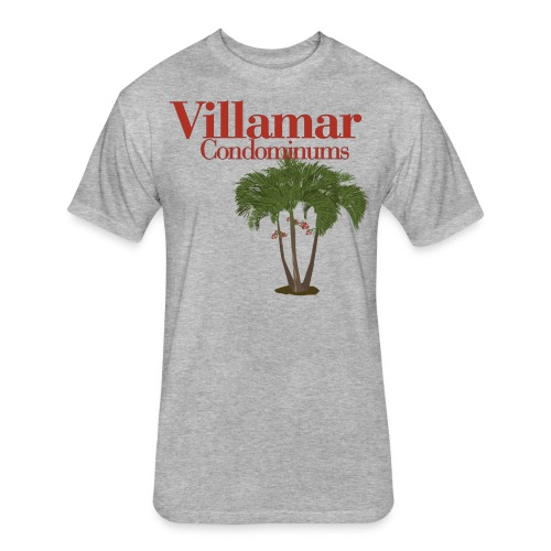 Villamar Tree - Fitted Cotton/Poly T-Shirt by Next Level
