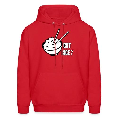 Mens T-shirt Got Rice? - Men's Hoodie