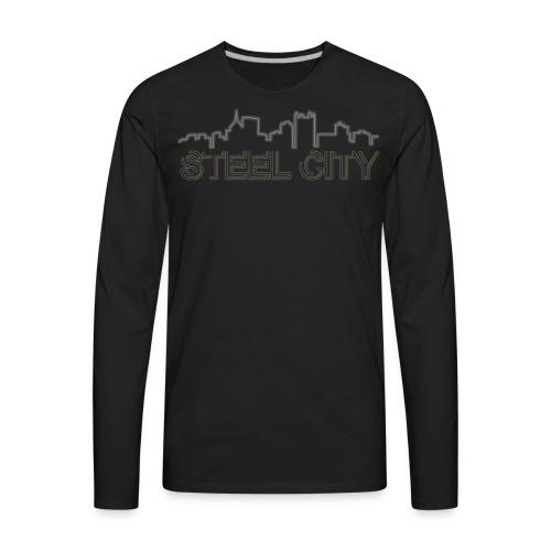 STEEL City - Men's Premium Long Sleeve T-Shirt