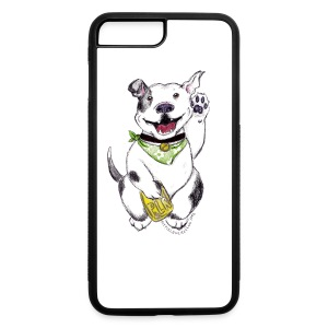 Happy Pit Bull! - iPhone 7 Plus/8 Plus Rubber Case