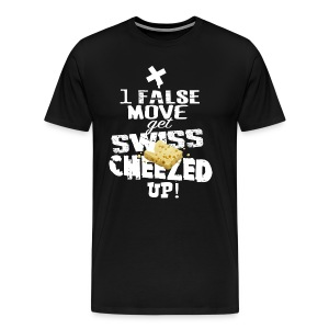 Swiss Cheeze - Men's Premium T-Shirt