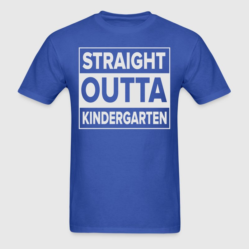 Kreative In Kinder Straight Outta T-Shirts - Men's T-Shirt