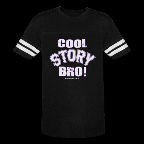 Cool Story Bro - Mens T-shirt - Vintage Sport T-Shirt
