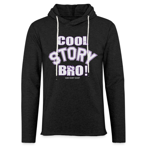 Cool Story Bro - Mens T-shirt - Unisex Lightweight Terry Hoodie